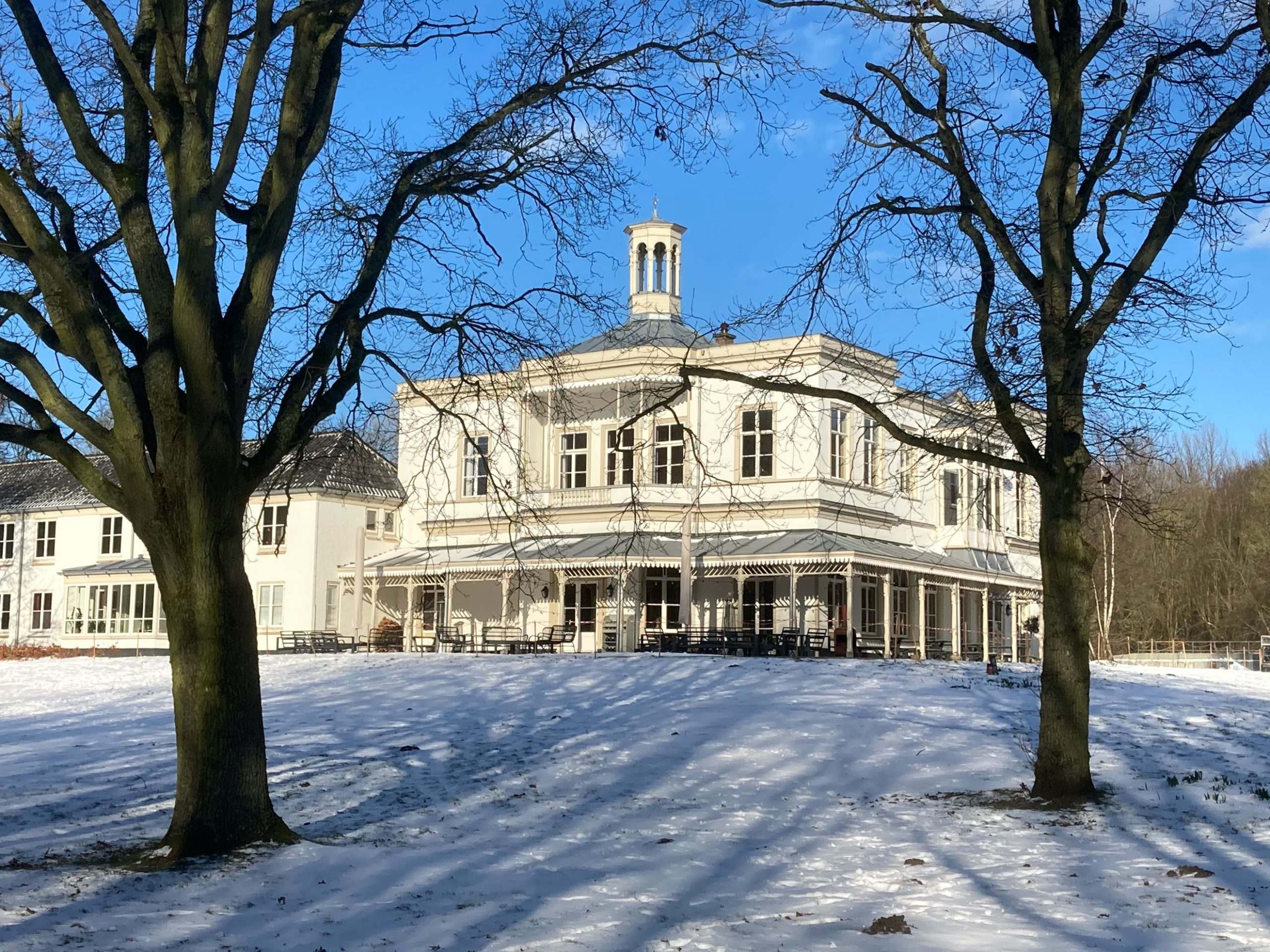 Sneeuw Villa Ockenburgh